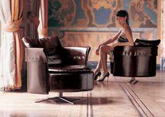 charme chair - design Giuseppe Viganò - Fratelli Longhi