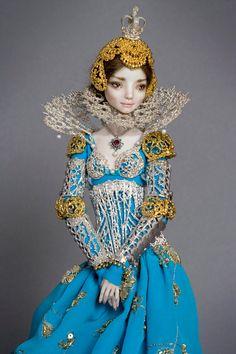 Dolls of Porcelain Beauties by Marina Bychkova