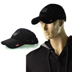A.Kurtz Hat Mens Washed Corduroy Trucker Lid Baseball Cap One Size NEW Black  | Get Dressed at http://ImageStudio714.com http://stores.ebay.com/ImageStudio714
