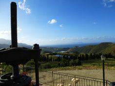 Panorama da Villa Rica con la pressa per le olive. #Patti, provincia di #Messina, #Sicilia