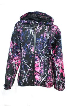 Just got this jacket from my work and I love it! Starting to really like this brand. Thank god for sportsman wearhouse! Camo  Wind Breaker Jacket Muddy Girl from American Outdoor Woman