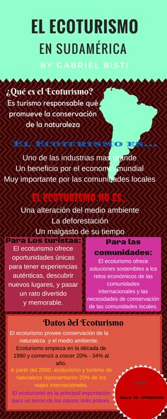 Sello de Aprobación Ecotours El Ecoturismo en sudamérica by Gabriel...