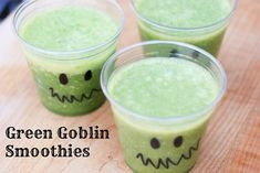 Green Goblin Smoothies: Healthy Treats for Classroom Halloween Parties