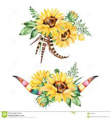 sonnenblumen schablone - Google-Suche Sunflower Wedding Invitations, Wedding Invitation Templates, Sunflower Leaves, Illustration, Tapestry, Watercolor, Floral, Cards, Blog