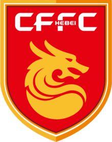 Hebei China Fortune FC of China crest. Football Team Logos, Soccer Logo, World Football, Sports Logos, Fifa, Harbin, Branding, Wuhan, Monogram