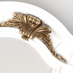 3D model of the arch with the decor for visualization and production on CNC machines.