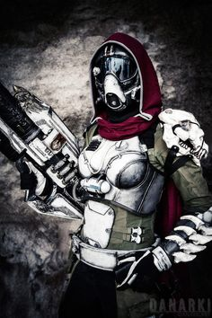 Destiny cosplay for midnight launch