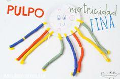 #Juguetescaseros para estimular la #motricidadFina