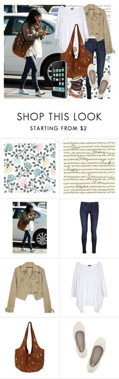 """""""Vanessa Hudgens"""" by alina-s ❤ liked on Polyvore featuring Free People, Citizens of Humanity, Theory, Bassike, Bloch and celebrity street style"""