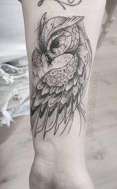 owl tattoo - owl tattoo ` owl tattoo design ` owl tattoo for women ` owl tattoo drawings ` owl tattoo men ` owl tattoo small ` owl tattoo sleeve ` owl tattoo chest Owl Tattoo Design, Geometric Tattoo Design, Tattoo Designs, Wolf Tattoos, Animal Tattoos, New Tattoos, Tatoos, Owl Tattoo Drawings, Tattoo Owl