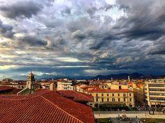 Il cielo prima del temporale  #pisa #igerspisa #volgopisa #vivopisa #ig_pisa  #world_bestsky #sky_sultans #igworldclub_sky #perspectral #meteoit #retemeteoamatori