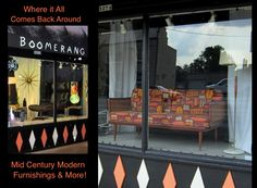 Mid-Century Marvels at the Boomerang Room Vintage in Columbus, OH 1950s Living Room, Comebacks, Everything, Mid-century Modern, Mid Century, Furniture, Vintage, Home Decor, Decoration Home
