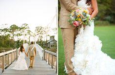 Watercolor, FL wedding!