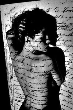 She is made of the lyrics from her favorite songs.
