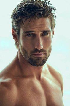 Beautiful Men Faces, Most Beautiful Man, Gorgeous Men, Moustaches, Hot Guys, Mohawk Hairstyles Men, Beard Growth Oil, Scruffy Men, Handsome Faces