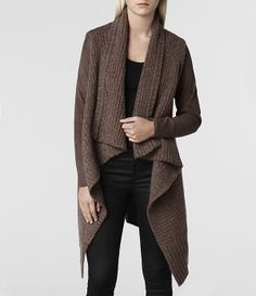 You know what I say... you can never have too many cardigans! Earthy color, knit, brown, sweater, clothing, accessory