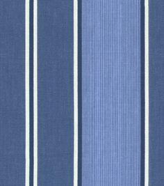 Home Decor Fabric-Waverly Surry Stripe Porcelain, , hi-res