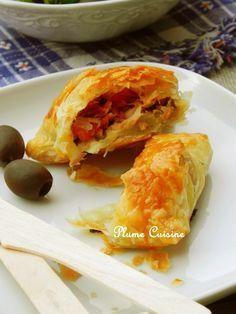 Feuilletés thon, tomates et mozarella