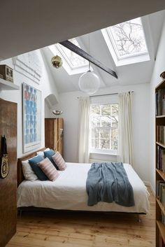 AuBergewohnlich Möbel Für Dachschräge Schlafzimmer Einrichten Schlafzimmer Dachschräge,  Schlafzimmer Einrichten, Wg Zimmer, Dachgeschoss,