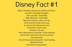 Disney Fun Facts