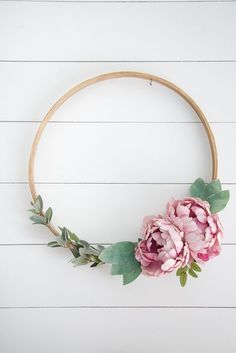 DIY Embroidery Hoop Wreath I have a simple tutorial and easy project for you all to make. It's the new trend for wreaths, and you can just imagine the endless possibilities with it. I created a few DIY emroidery hoop wreaths for my friend Erika, who is having twin girls. I am helping her design... Read more