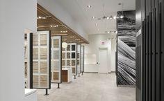 Showroom stones and london on pinterest - Interior design tiles showroom ...
