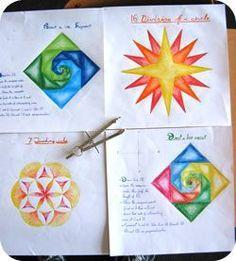 Geometry Pages | Waldorf Teachers Gallery