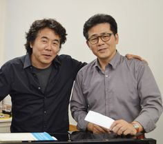 Korean tenor Na Seung seo, with a baritone whose name I cannot discern. The two of them appeared in Verdi's Rigoletto.