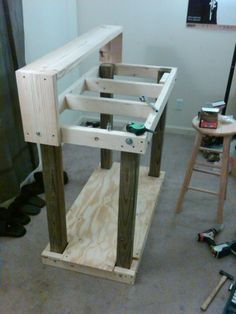 """Official """"HOW TO"""" build a basic reloading bench--Plans and Process w/pics - AR15.COM"""