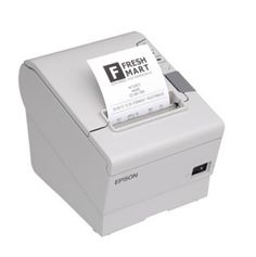 Epson TMT88V Thermal Direct Receipt Printer. - Auto Cutter. Parallel & USB. ESC / POS. Epson Cool White. Incl PSU.  The TM-T88V POS thermal printer is the latest addition to Epson's industry-leading TM-T88 POS printer series. The TM-T88V delivers more speed and more reliability than ever befo