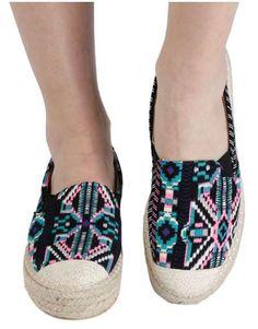 ΝΕΕΣ ΑΦΙΞΕΙΣ :: Εσπαντρίγια Aztec Summer - OEM Espadrilles, Slip On, Flats, Sneakers, Shoes, Fashion, Espadrilles Outfit, Loafers & Slip Ons, Tennis