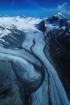 Melbourne Glacier, Tatshenshini-Alsek Provincial Park, Northwest British…