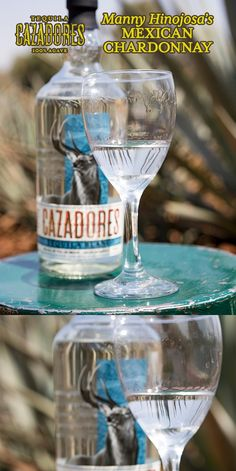 Mexican Chardonnay   1 Cazadores Blanco   Pour Cazadores Blanco into your favorite wine glass…that's it!