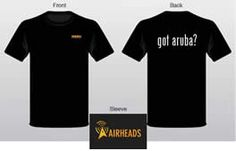 FREE Aruba Networks T-shirt (for Businesses) on http://www.icravefreebies.com/