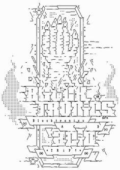 sk!n, blocktronicsacidtrip_ASC (2013) | ASCII Art | Scoop.it