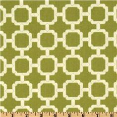 "Swavelle/Mill Creek's Hockley in Pear \ $9 per yard \ 54"" wide Polyester Indoor/Outdoor \\ To wash, Hand Wash or Dry Clean"