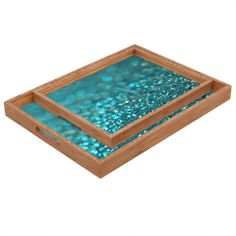 DENY Designs Lisa Argyropoulos Aquios Rectangular Tray | Wayfair