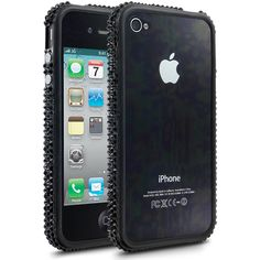 Cellairis Bling Bumper for Apple iPhone 4/4S - Jet Black Stylish iPhone 4s Cases - www.cellairis.com