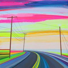 Open Roads – Les peintures de Grant Haffner