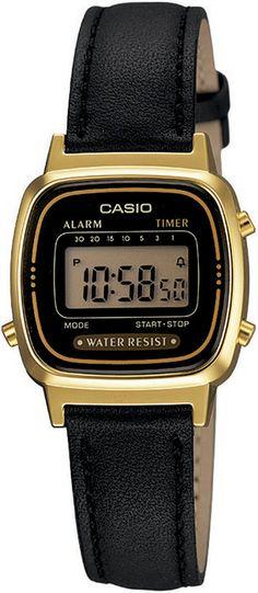 Zegarek damski Casio LA670WEGL-1EF - sklep internetowy www.zegarek.net