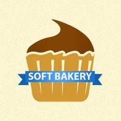 Logo dla zespołu programistów na platformę iOS. Soft Bakery wkrótce planuje otwarcie strony internetowej oraz opublikowanie pierwszych aplikacji w AppStore.