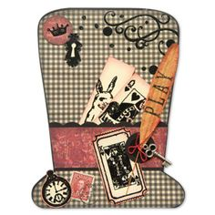 Mad Hatter Stampington Co.  - that will make a real cute Easter card-