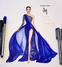 Kuhair Murad Fashion Illustration