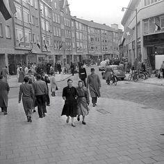 Rotterdam - Pannekoekstraat, 1953