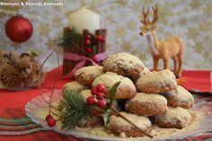 Νόστιμες κ Υγιεινές Συνταγές: Κουραμπιέδες χωρίς βούτυρο, ζάχαρη και μίξερ και δ...