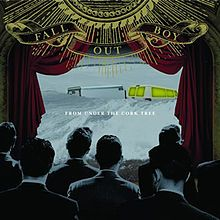 Fall Out Boy - From Under The Cork Tree    , FUCT as fans may call it, is tied with TTTYG as my favorite album. I can remember people making fun of me for loving FOB so much, but no one actually ever gave this album a chance. While they did become a main stream band, this was the album of my youth. It just touched on every subject as a  teenager such as,  Love, Hope , Depression, and Growing up.