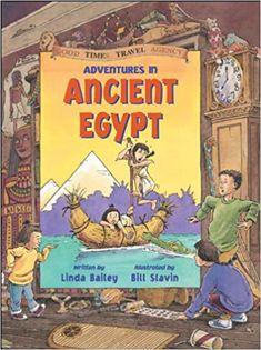 Adventures in Ancient Egypt (Good Times Travel Agency): Bailey, Linda, Slavin, Bill: 9781550745467: Amazon.com: Books
