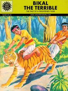 BIKAL THE TERRIBLE - The Tale of a Frightened Tiger