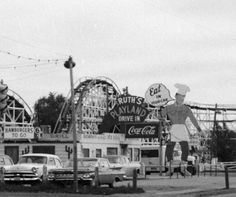 Playland Park, Council Bluffs, Iowa Source by nancyjotoo Old Images, Old Pictures, Council Bluffs Iowa, Historical Pictures, Amusement Park, Nebraska, America, History, Holy Family