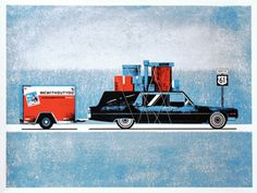 Uhaul, Moving, Van, Truck, Graphic Design, creative, visual, inspiration